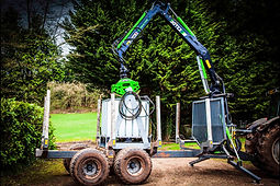 Suttons Forestry Grab Pressure Wash