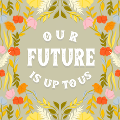 Quote Floral Illustration