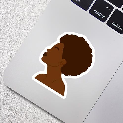Natural Woman Vinyl Sticker