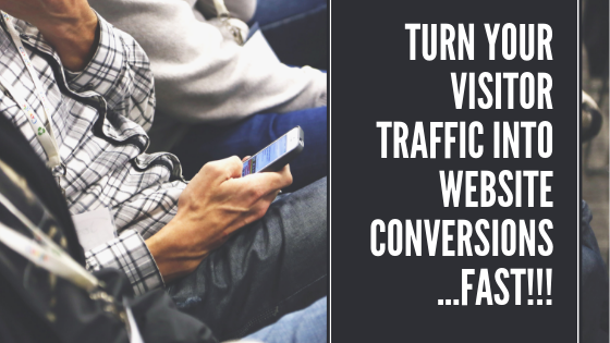 website visitor conversions