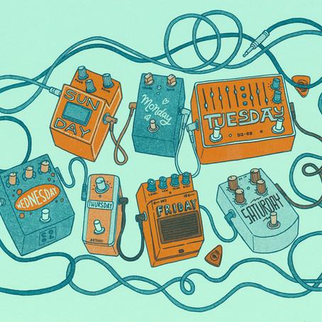 5 pedales esenciales que todo guitarrista debería tener.