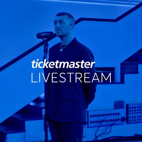 Ticketmaster LIVESTREAM. Así se llama la nueva plataforma de conciertos en livestreaming