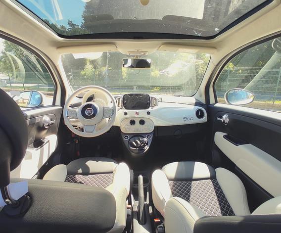 Fiat 500 Dolcevita interni