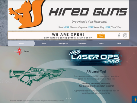 HIRED GUNS SITE RE-LAUNCHED!