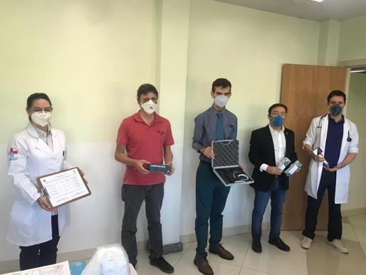 Hospital Municipal de Foz recebe doação do Sindicato dos Auditores da Receita Federal