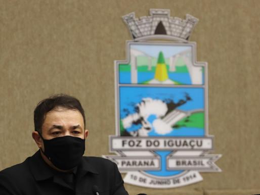 Delegado Francisco Sampaio toma posse como vice-prefeito de Foz do Iguaçu