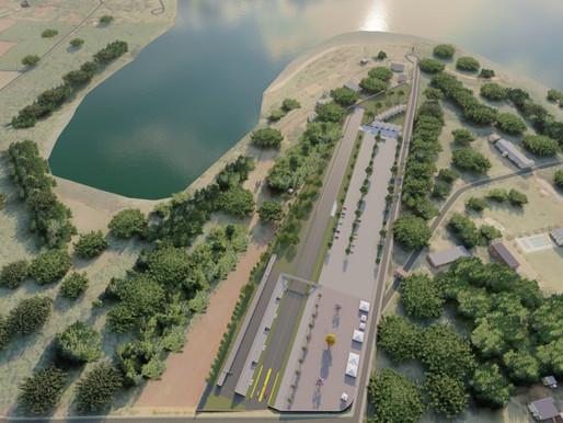 Legislativo participa da assinatura da ordem de serviço para construção da pista de arrancada