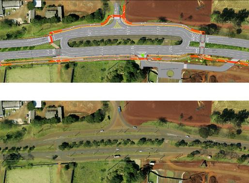 Itaipu faz readequações no trevo de acesso a Furnas. Fique atento!