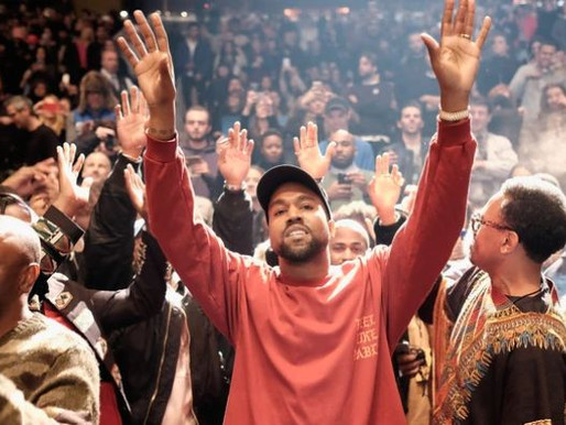 Kanye West diz que é candidato à presidência dos EUA