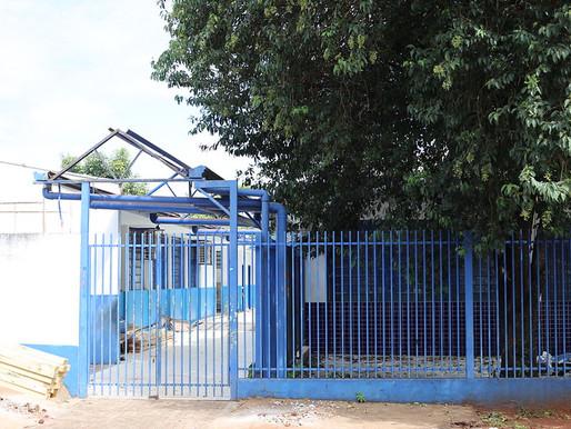 Começam as obras de reforma e ampliação da Escola Duque de Caxias