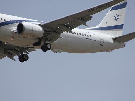 Aeronave israelense é equipada com sistema de defesa antimísseis