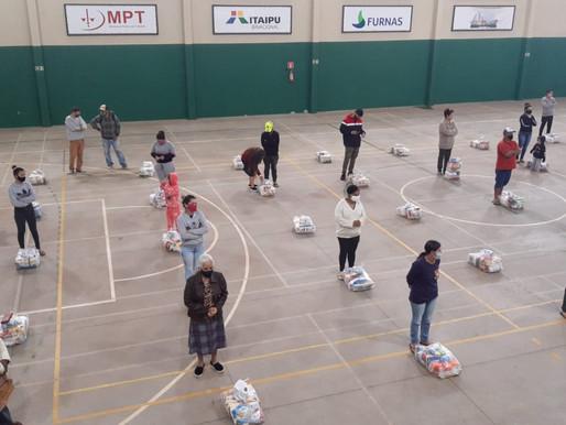 Campanha Foz Unida distribuiu mais de 30 toneladas de alimentos
