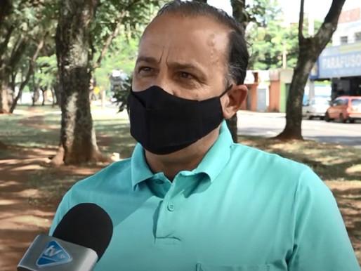 Vereador Maninho sugere ao executivo a revitalização da pista de caminhada da Avenida JK