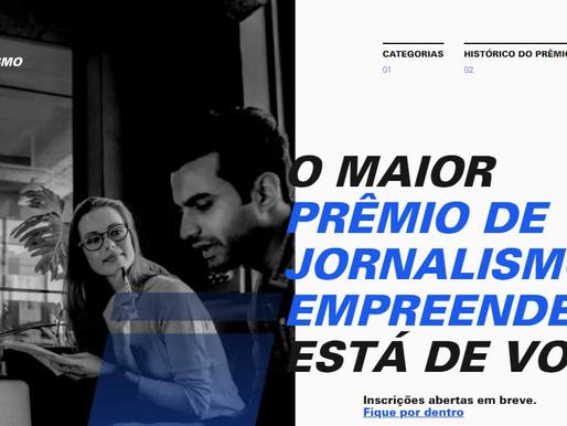 Sebrae lança 8ª edição do Prêmio Sebrae de Jornalismo: inscrições têm início em 1º de julho