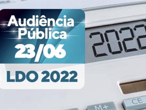 Comissão Mista realiza audiência para discutir metas e diretrizes para elaboração do orçamento de 22