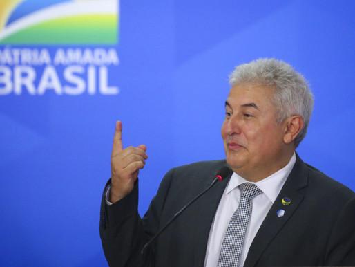 Ministro Marcos Pontes participa da cerimônia de entrega das tecnologias do Vila A Inteligente