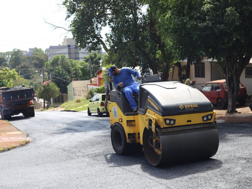 Asfalto vai chegar a todas as ruas da Vila Shalon