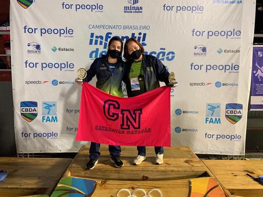 Atleta da natação iguaçuense conquista sete medalhas no Campeonato Brasileiro Infantil de Inverno