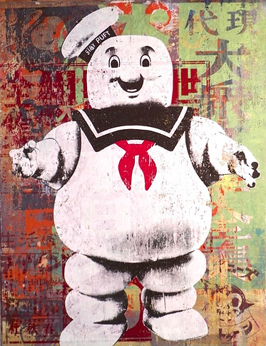 Stay Puft Toy