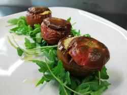 Pomodori sardi ripieni di coriandoli di