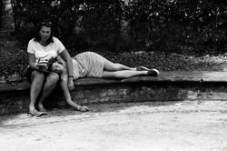 Sleeping in Borghesse Park