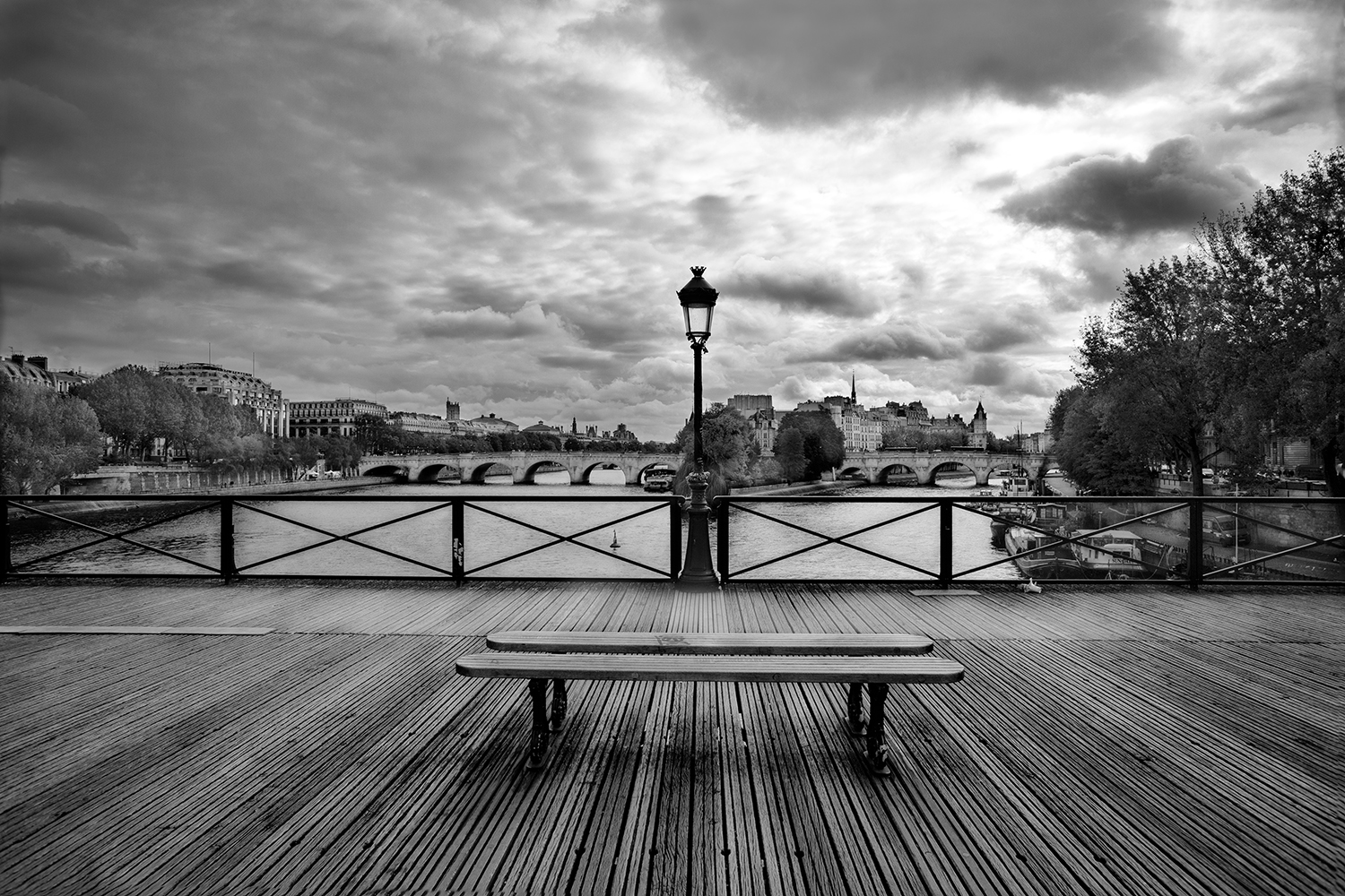 View from Pont des Arts #2