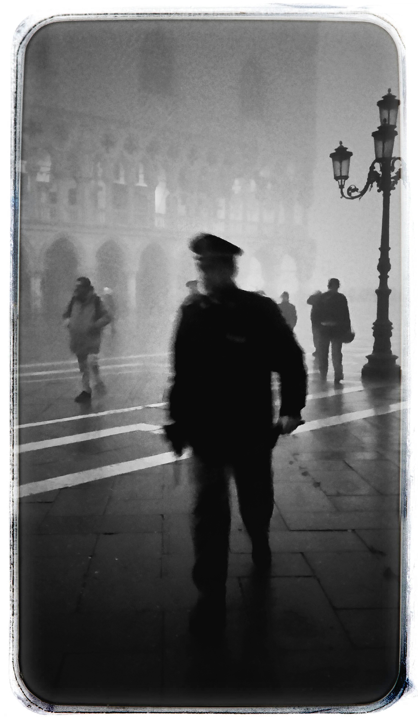 Policeman at Saint Mark's #2