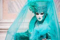 Performer in Turquoise