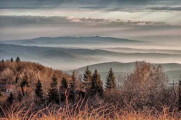 Mountain Goč in Autumn