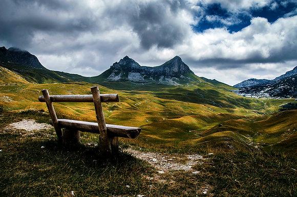 Vacation - Mountain peak Sedlo