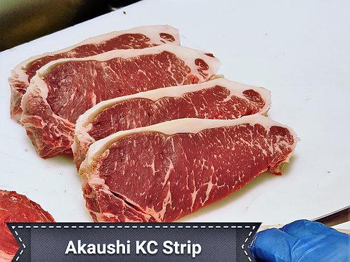 2x 14 oz. Prime Akaushi KC Strips