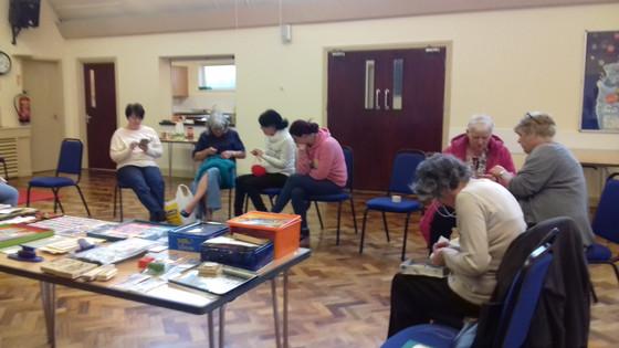 Tuesday activities at Hetton & Eppleton Community Hall