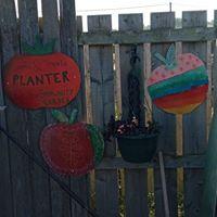 Hetton Carnival fruit decorations