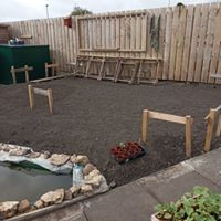 Barn site ready