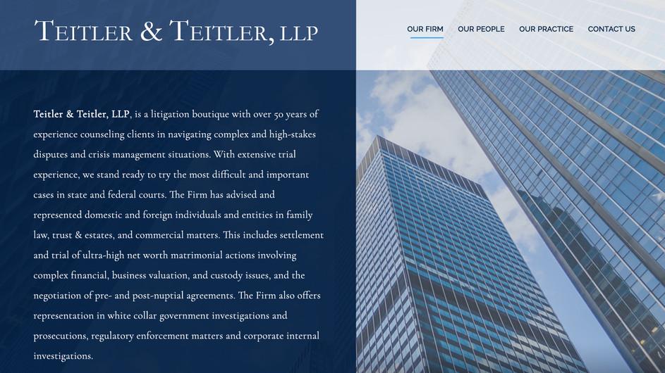 Teitler & Teitler, LLP