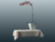 3d orchid render