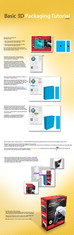 Basic 3D package design mock-up in Illustrator and Photoshop