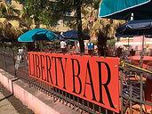 Liberty Bar's new patio