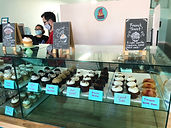 Some of the cupcakes at Oh Yeah Cakes