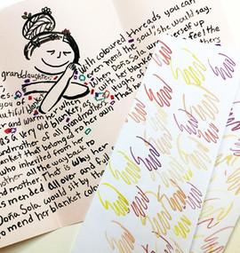 Sola's hug letter