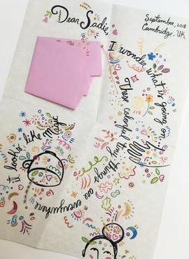 Sadie's letters