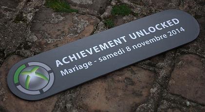 panneau, achievement unlocked, xbox, unreal, photobooth, mariage, photographies, souvenirs