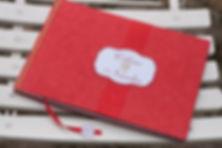 Livre d'or, mariage, souvenirs, reliure japonaise, ruban, étiquette personnalisée, voyage, avion
