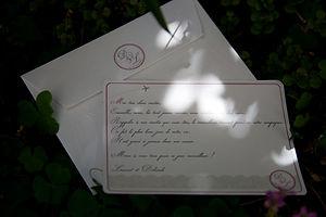 carte remerciements, mariage, dentelle, shabby chic, voyage, avion