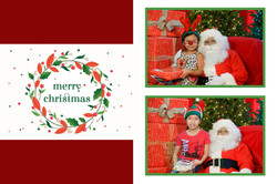 Happy Holidays- Two Frames
