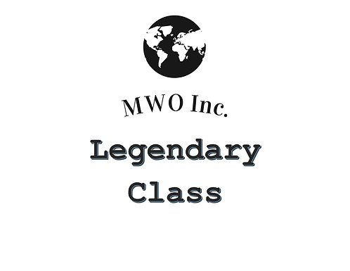 Gamer Legendary Class Fee
