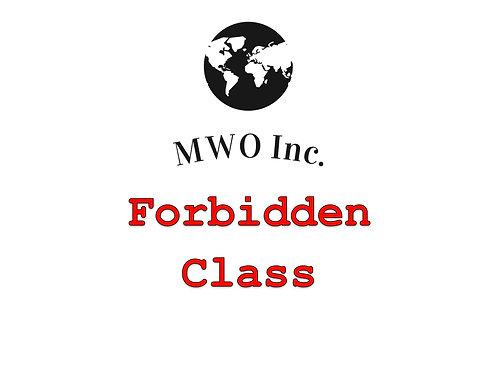 Gamer Forbidden Class Fee