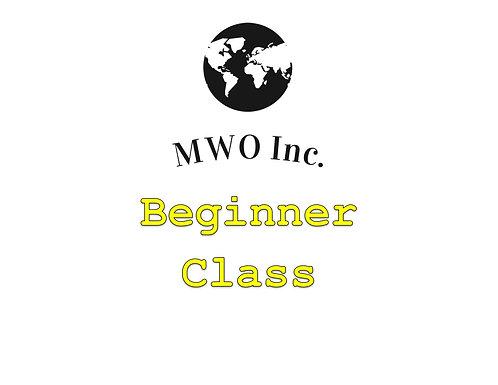 Gamer Beginner Class Fee