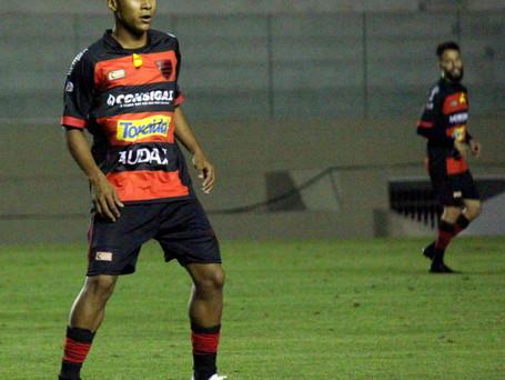 Kauã é o mais jovem a estrear pelo Campeonato Brasileiro.