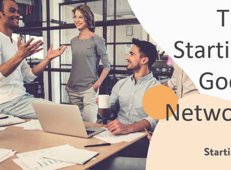 Connecting with The Starting Good Network